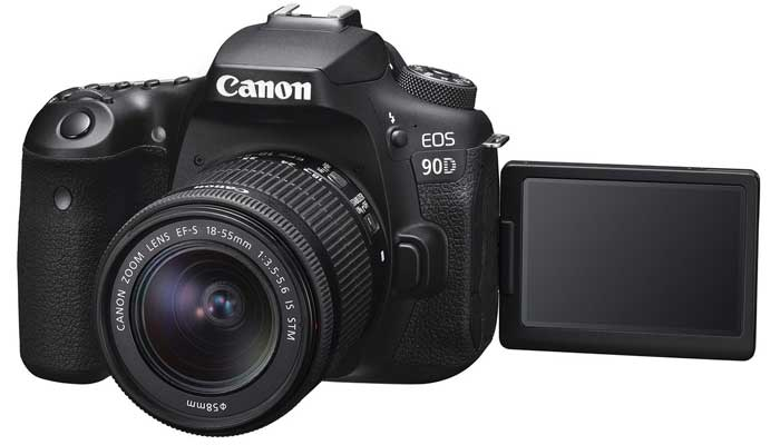 دوربین شرکت کانن مدل EOS 90D